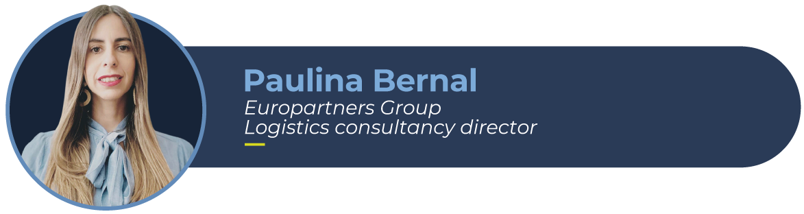 Picture fo Paulina Bernal, Europartner Group's director of logistics consultancy